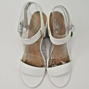 BAMBOO Shoes - Bamboo Womens Sling Back High Heeled Sandal Size 9